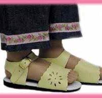 Summer Floral Sandals