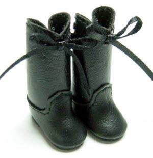 Blythe Boots w/ Ribbon