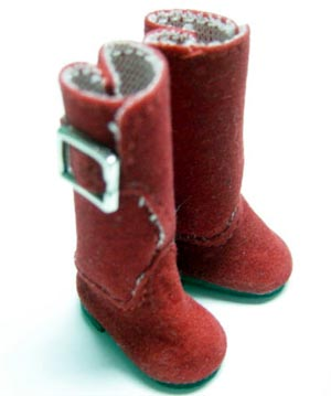 Blythe Red Boots
