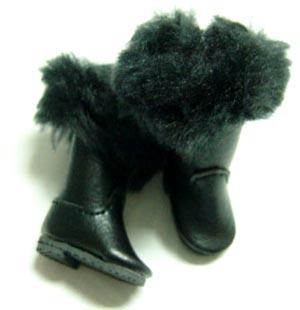 Blythe Fur Top Boots