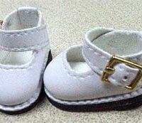 Modern Mary Jane Shoe – White