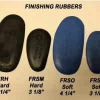 Finishing Rubbers